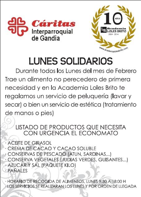 Lunes Solidarios