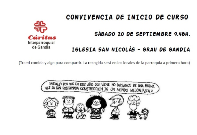 Convivencia Inicio Curso 2014-2015