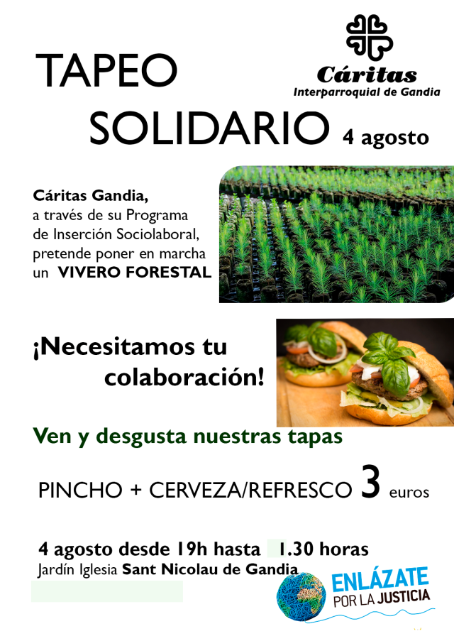 CARTEL TAPEO SOLIDARIO