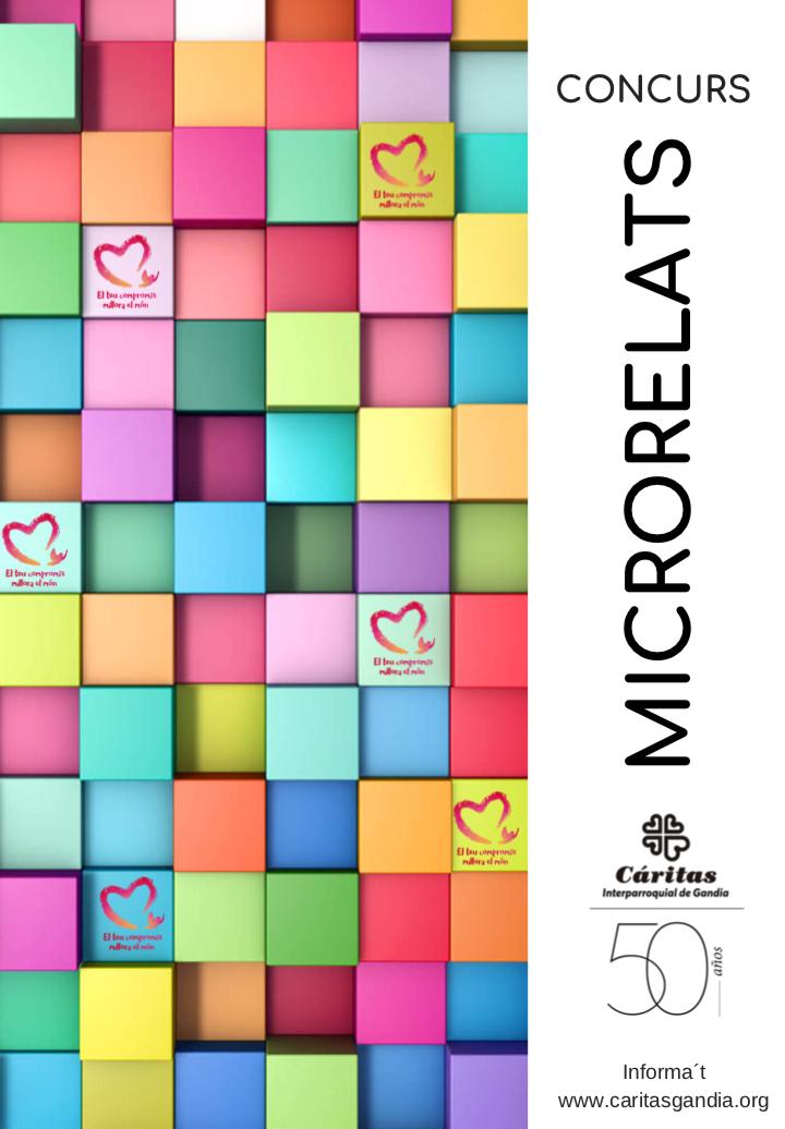 cartel microrrelatos